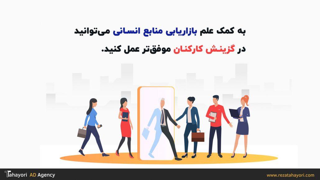 بازاریابی منابع انسانی به شما در گزینش کارکنان کمک می کند